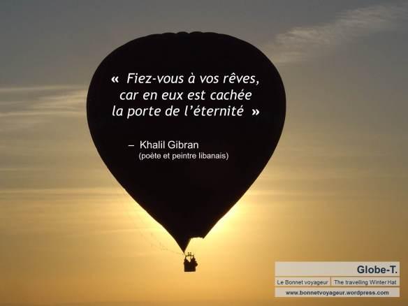Montgolfière - Khalil Gibran