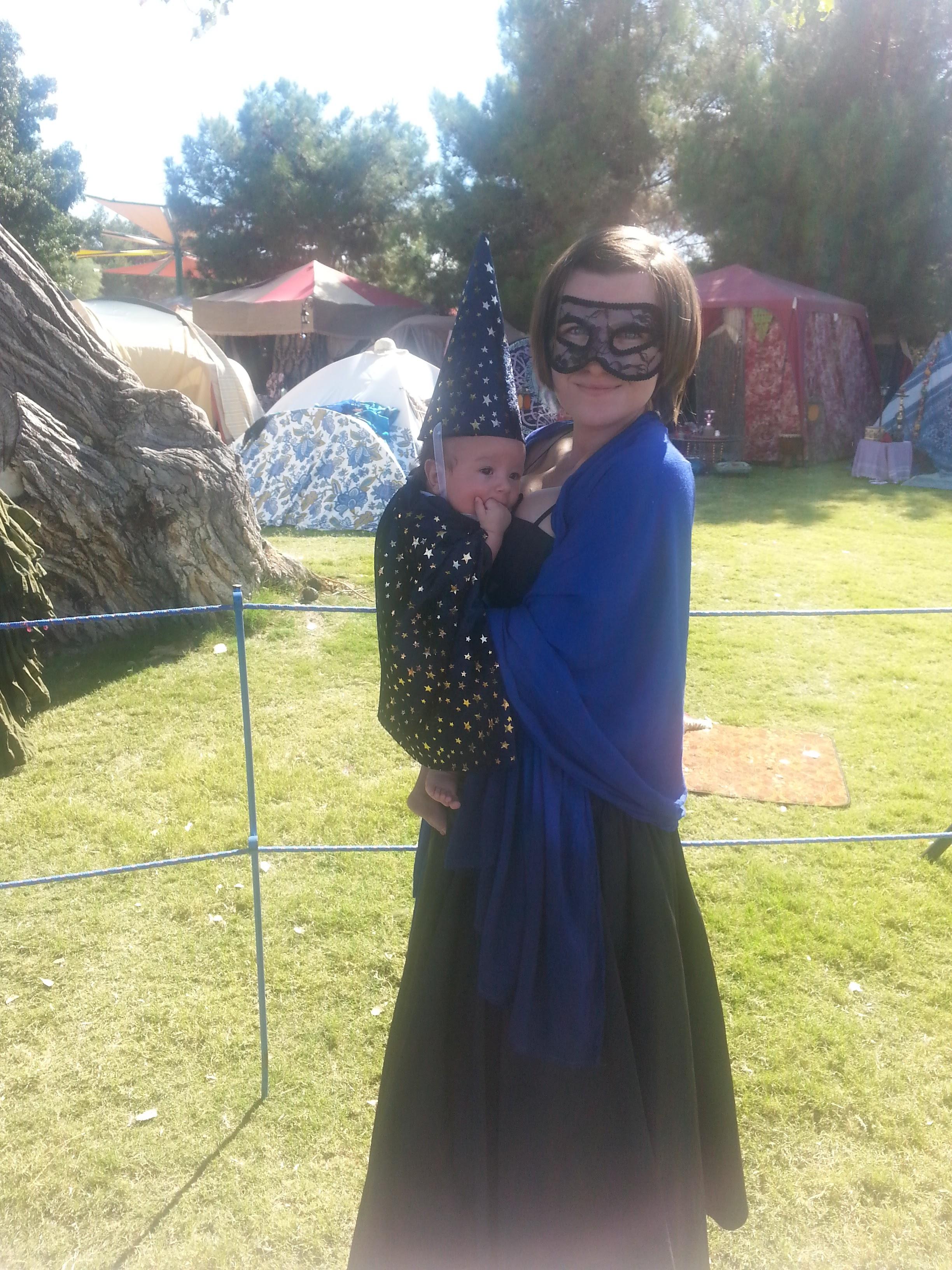 No-Sew Wizard Costume DIY (so simple it's almost magic!) – the ...